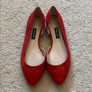 Nine West red flats